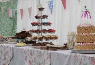 Afternoon Tea at the wedding