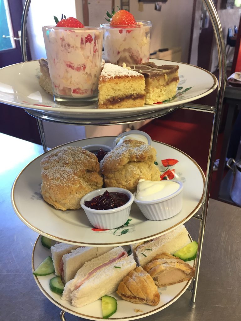 Afternoon tea berwick northumberland