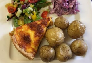 Homemade Quiche berwick northumberland