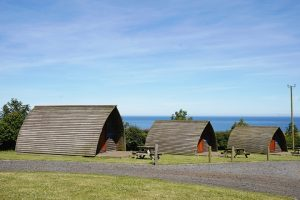 glamping pods in the north east england